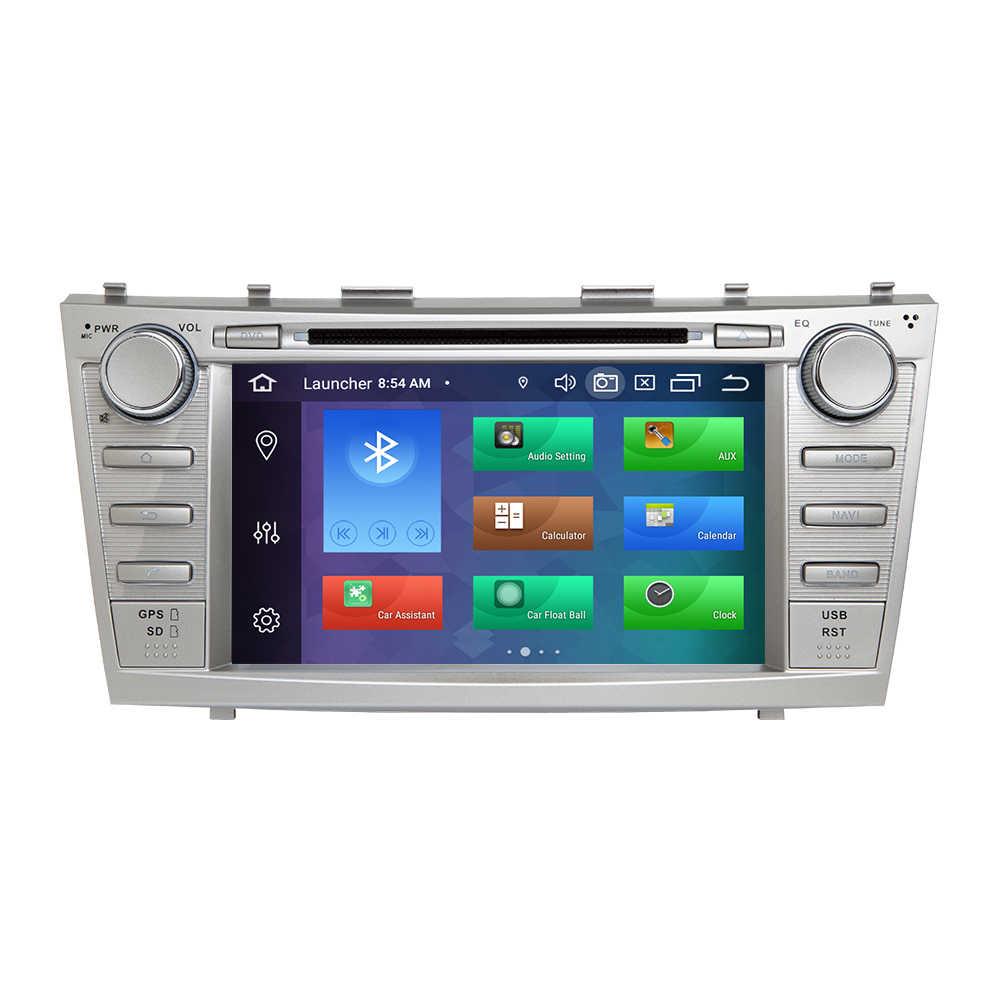 4GB 2 الدين الروبوت 9 سيارة مشغل ديفيدي لتويوتا كامري 2007 2008 2009 2010 2011 أوريون 2006 الوسائط المتعددة نظام صوت للتنقل باستخدام جهاز تحديد المواقع ستيريو
