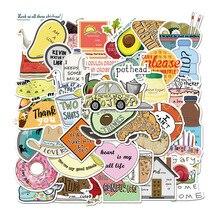 Decal Sticker Notebook Laptop Skateboard Cartoon for PS4 50PCS Suitcase Vine Guitar Animal