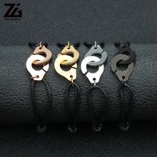 Bracelet Boy Armband Jewelry Handcuffs-Rope Couple Gift Handmade Men's Cool Adjustable