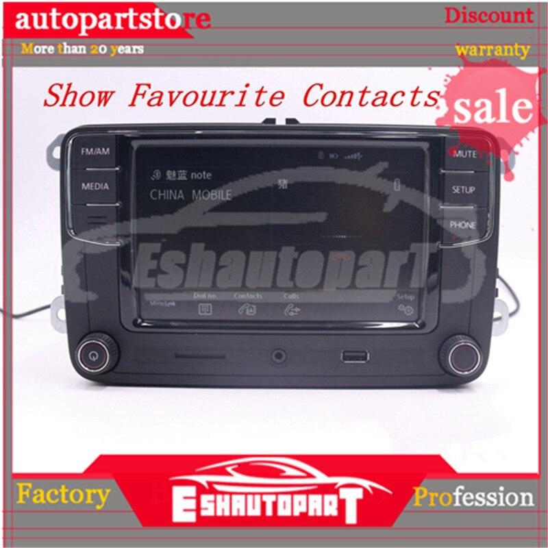 Android Auto Carplay miroir lien RCD330 R340G Plus Noname Radio rouge rétro lumière 187B pour PQ35 plate-forme siège Leon Toledo Altea