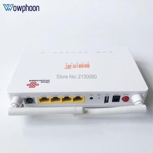 Image 2 - 2019 חדש דגם ZTE F677 GPON ONU 1GE + 3FE + 1Tel + 1USB + Wifi אותו פונקצית F623 F663N f660, אנגלית גרסה