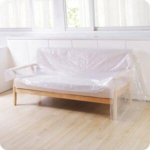 Image 4 - 多機能プラスチック透明ダストカバーのベッドソファ家具屋外防水カバー