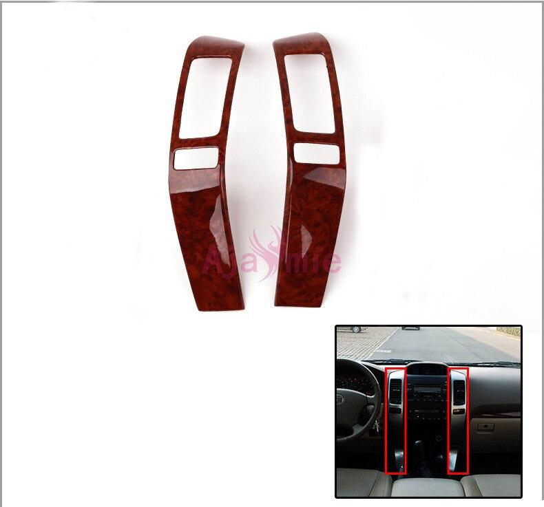 Для Toyota Land Cruiser 120 Prado FJ120 2003-2009 интерьер деревянный цвет отделка панель Гарнир крышка автомобиля Стайлинг Аксессуары