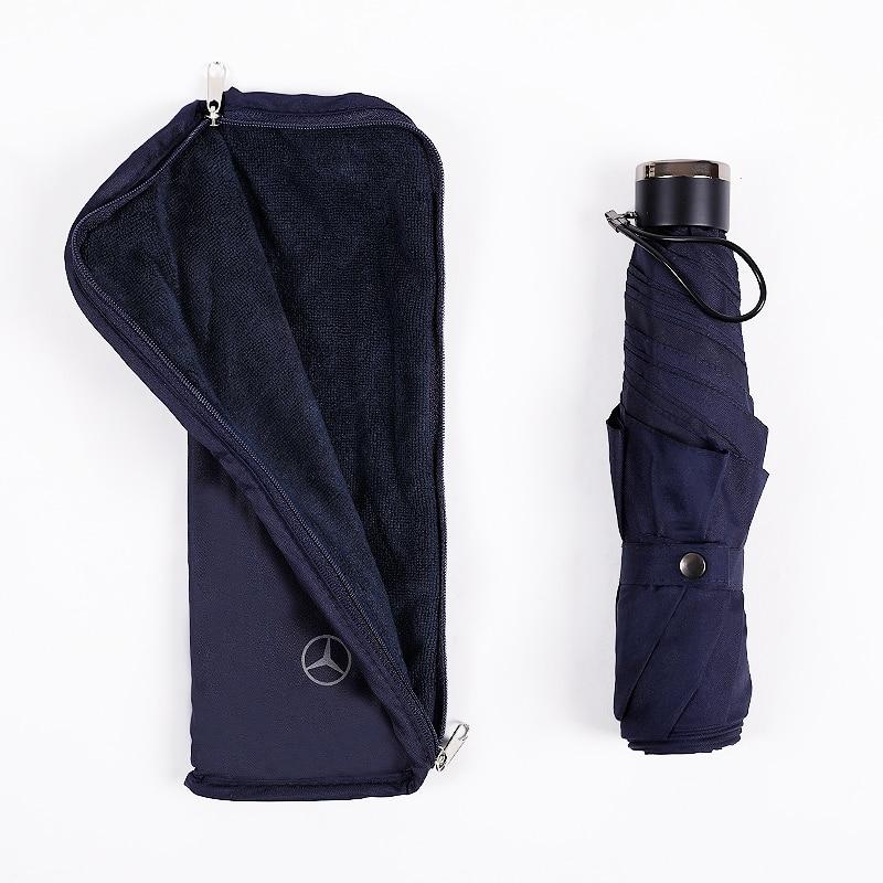 Mini Pocket 3-folding Umbrella Men And Women Small Portable umbrella rain Waterproof Travel umbrella Windproof
