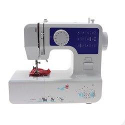 Máquina de coser eléctrica multifunción para el hogar, aguja de coser rápida, mini máquina de coser de tela inalámbrica para ropa con juego de costura