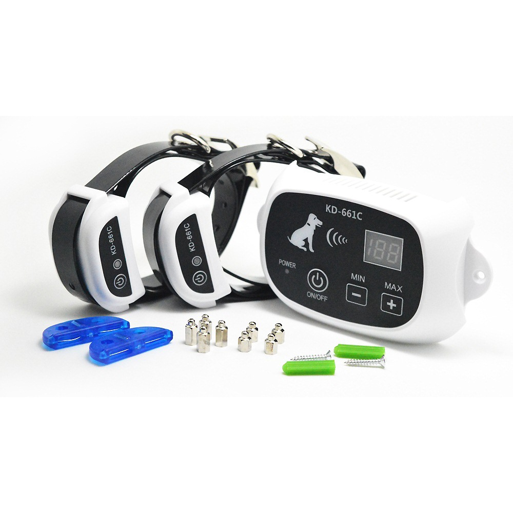 Rechargeable_Wireless_Pet_Fence_KD661C_White_02