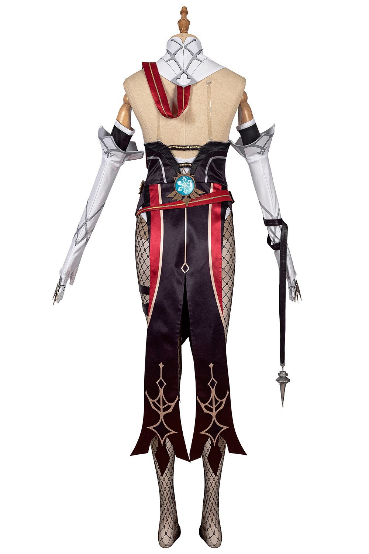 Genshin Auswirkungen Rosaria Cosplay Kostüm Fancy Outfit ...