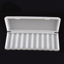 MasterFire 15pcs/lot 10 X 18650 Batteries Holder Case 18650 Battery Power Sell Plastic Storage Box Bag Hard Case Cover