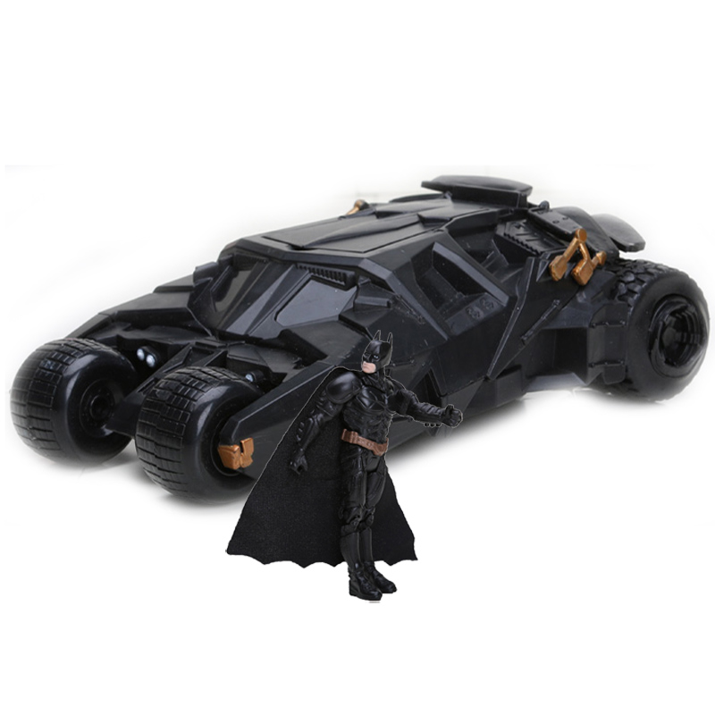 10-22cm Anime BATMAN BATMOBILE BLACK CAR Vehecle Toys Super Heroes Batman The Dark Knight Action Figure Collection Model Toys