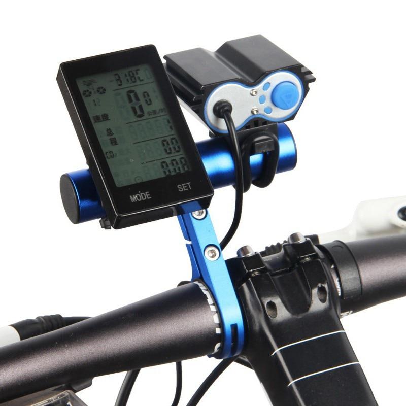 Bicycle Handlebar Extended Bracket Mount Bike Computer Headlight Mount Holde*