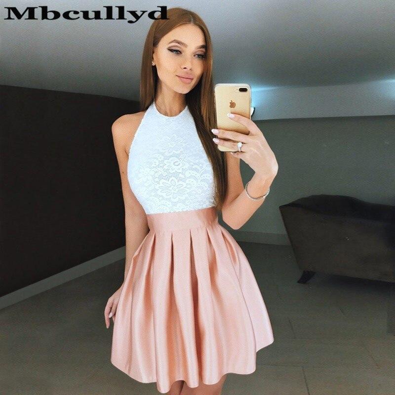 Mbcullyd Short Mini Homecoming Dress For Girls With Applique Lace Cheap Graduation Dresses 2019 Plus Size Vestido De Formatura