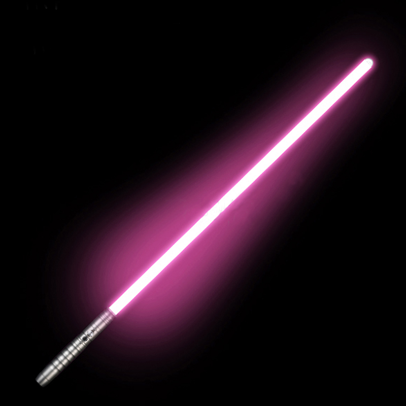 Lightsaber Toy Metal Handle Sabre Laser Luminous Yoy  LED Flashing Lightstick Glow In The Dark Rechargeable Sound  Handle Sword