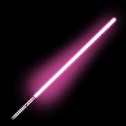 Sabre Laser jouet métal poignée Sabre Laser lumineux Yoy LED clignotant bâton lumineux lueur dans le noir Rechargeable son poignée épée