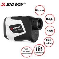 Sndway-telémetro láser 600-1000M, medidor de distancia, telescopio Monocular, Golf, caza, herramienta de medida de cinta