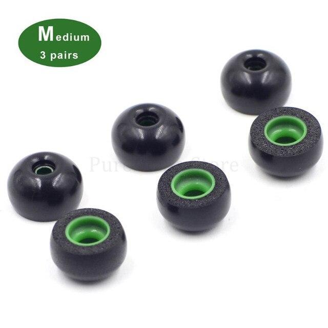 Replacement Memory Foam Ear Tips TWS Earbuds Earphone Sleeve Accessories for Jabra Elite 65t SONY WF-1000XM3 Earphone 6