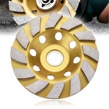 100mm Diamant Segment Schüssel Schleifen Rad Tasse Trennscheibe für Beton Marmor Granit Ginding Rad Maschine Dreh Werkzeug