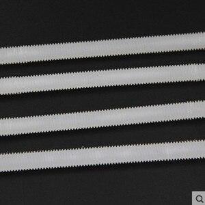 4PCS M6/8/10/12x250mm Nylon pl