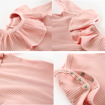 Baby Girl Romper 0-2Y Spring Newborn Baby Clothes For Girls Long Sleeve Kids Boys Jumpsuit Baby Boys Outfits Clothes Summer 6
