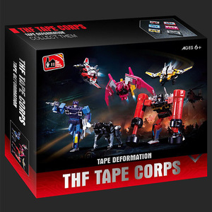 Image 4 - KBB G1 Transformation Robot Soundwave Six Magnetic Tape Troop THF 01P6 Rumble Laserbeak Buzzsaw Anime Action Figure Model Toys