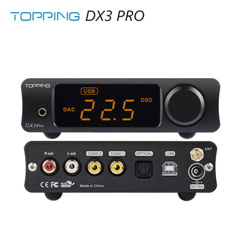 TOPPING DX3 Pro LDAC Edition AK4493 TPA6120A2 Hifi USB Bluetooth DSD512 DAC усилитель для наушников