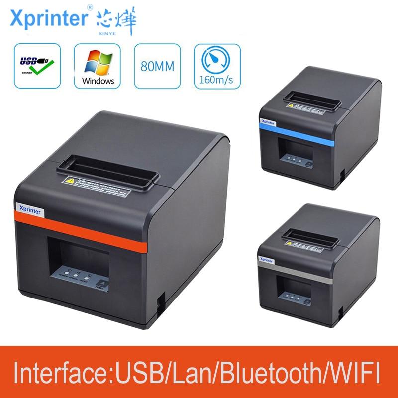 Mới Đến 80Mm Tự Động Cắt Máy In Hóa Đơn Nhiệt POS Máy In USB/Ethernet /USB + Bluetooth cổng