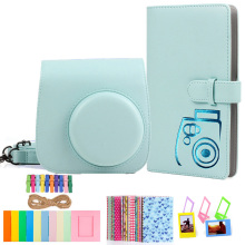 Fujifilm Instax Mini 9 Camera Accessories Bundle with Case/96 Photos