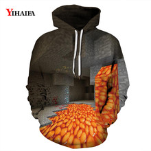 Mens Womens 3D Sweatshirt Funny Geometric Space Graphic Printed Hoodies Streetwear Pullover Tracksuit Unisex Clothes