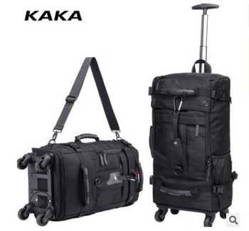 KAKA Men Travel trolley rucksack Rolling Luggage backpack bags on wheels wheeled backpack for Business Cabin Travel trolley bags - DISCOUNT ITEM  16 OFF All Category