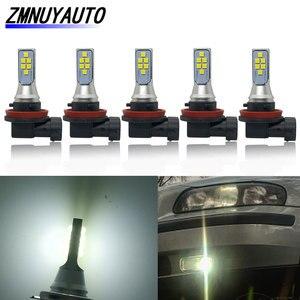 Image 1 - 5PCS Auto Led H11 H8 Fog Light Super Bright 12SMD 3535 Chip White 6500K Car Bulbs Driving Running Lights 12V