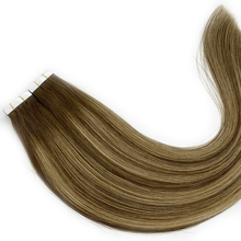 Kayla Balayage Color Tape in Human Hair Extensions Glue On Hair Invisible Seamless 100% Real Machine Remy Human Hair