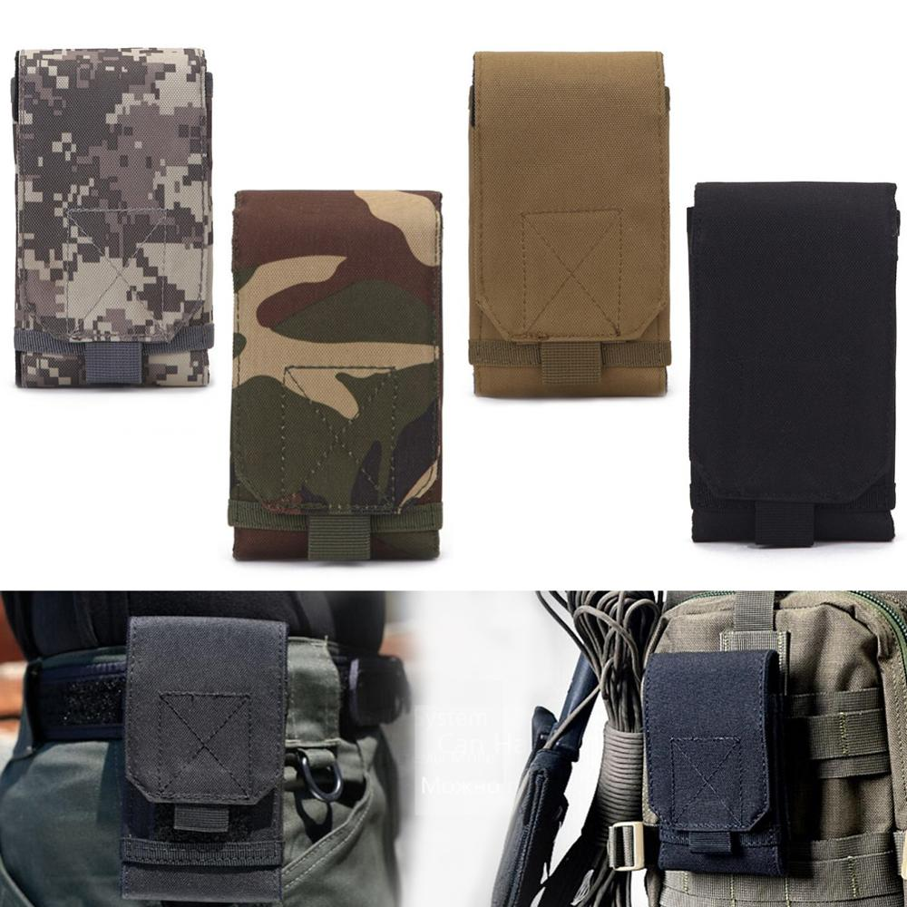 Tactical Pouch  Hunting Bags Belt Waist Bag Military Tactical Pack Outdoor Pouches Case Pocket Camo Bag For Iphone