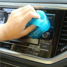 Goma suave para limpieza de coche, varilla al vacío para la eliminación de polvo, limpieza multifuncional