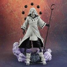 Uchiha Madara grande de 3 cabezas de PVC, figura de acción de Obito, Rikudo Sennin, modelo de juguete para niños, regalos de cumpleaños, colecciones