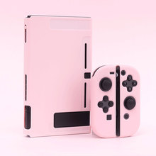 Nintendo Switch funda protectora para Joy Con, carcasa completa de 5 piezas para accesorios de Nintendo Switch