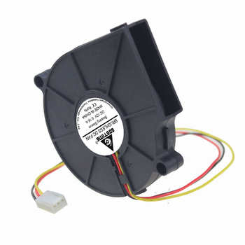 2 Pieces LOT Gdsime DC 12V 75mm Cooling Brushless Exhaust Airflow Blower Fan 3Pin 7515S 75x75x15mm 10pcs lot energy saving gdt 3pin dc brushless fan 12v 7cm 70mm 70mmx70x25mm fan cooler