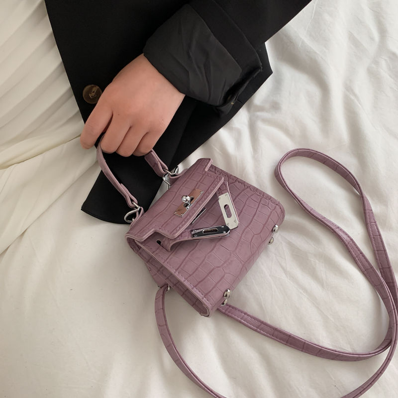 Women Shoulder Bag Spring Small Box Crossbody Bags Unqiue Lock Women Handbags Ladies Shoulder Messenger Bags 2020 Green White