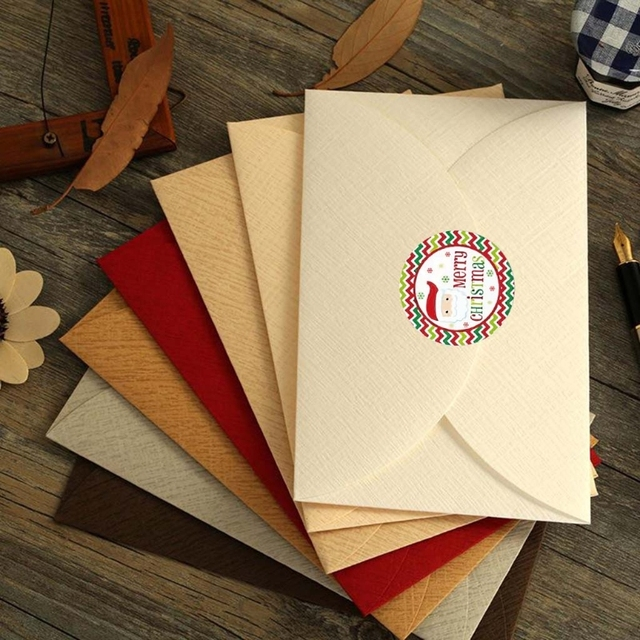 Roll Of Envelope Card Stickers 10
