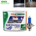 XENCN H4 12V 100/90W 5300K синий Алмазный Автомобильный свет высокой мощности УФ-фильтр Галогеновый супер белый Автомобильный свет для yaris pajero Новый 2Pos