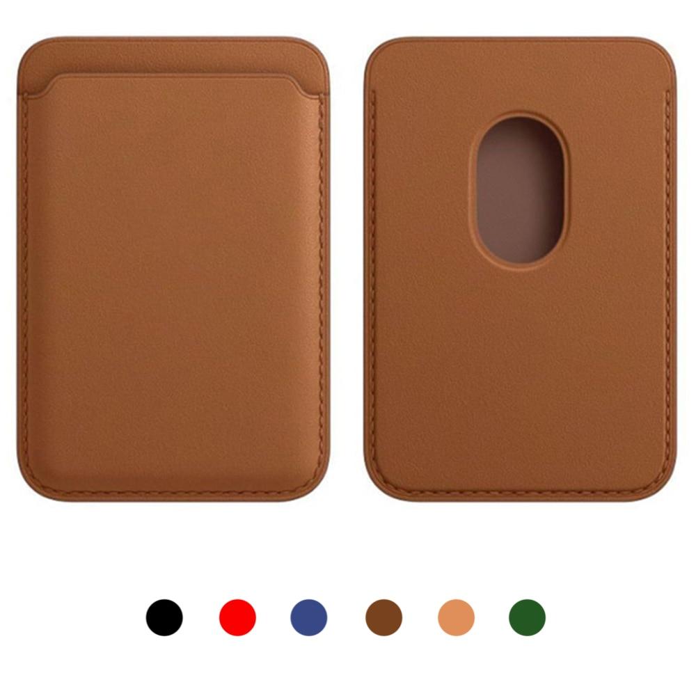 Nuova carta portafoglio Magic Safe porta carte di moda antifurto proteggi custodia custodia custodia per iPhone per androidi