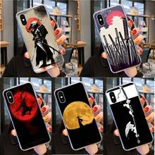 Yinuoda Japan De Samurai Ninja Coque Shell Telefoon Case Voor Iphone 11 Pro Xs Max 8 7 6 6S plus X 5 5S Se Xr Cover(China)