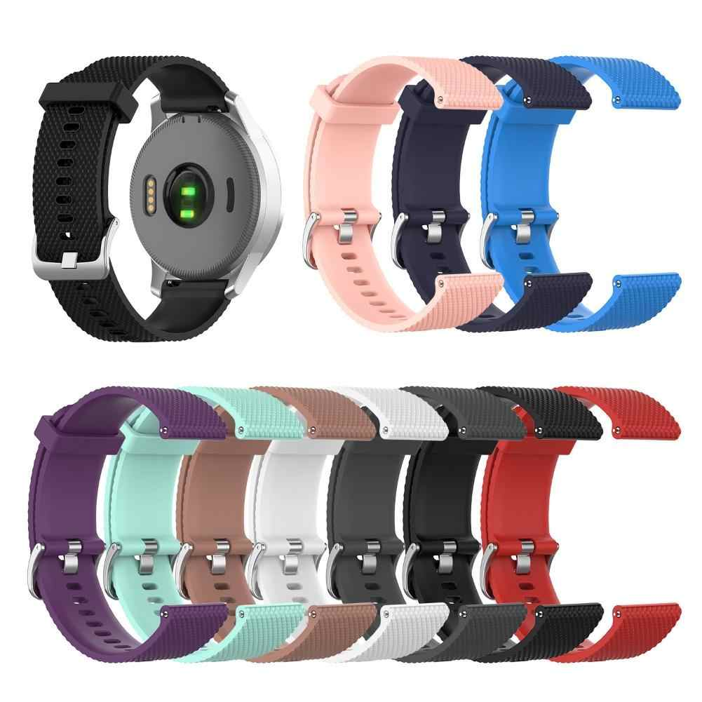 Penggantian Strap Watch Aksesoris Watch Band Adjustable Tekstur Smart Watch Band Wrist Strap untuk G-Armin Vivoactive 4S watchb