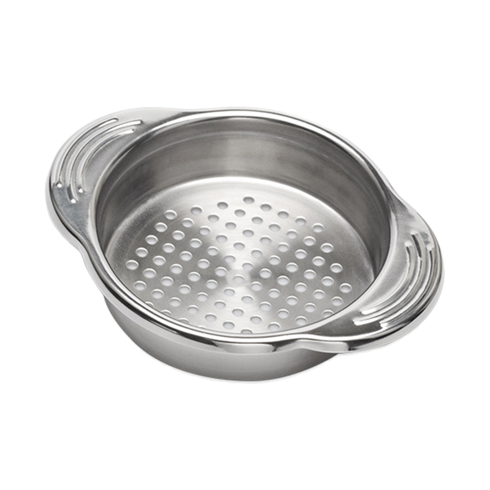 304 Stainless Steel Food Can Strainer Fruit Can Sieve Colander Kitchen Tool For Tuna Beans Vegetables Fliter image