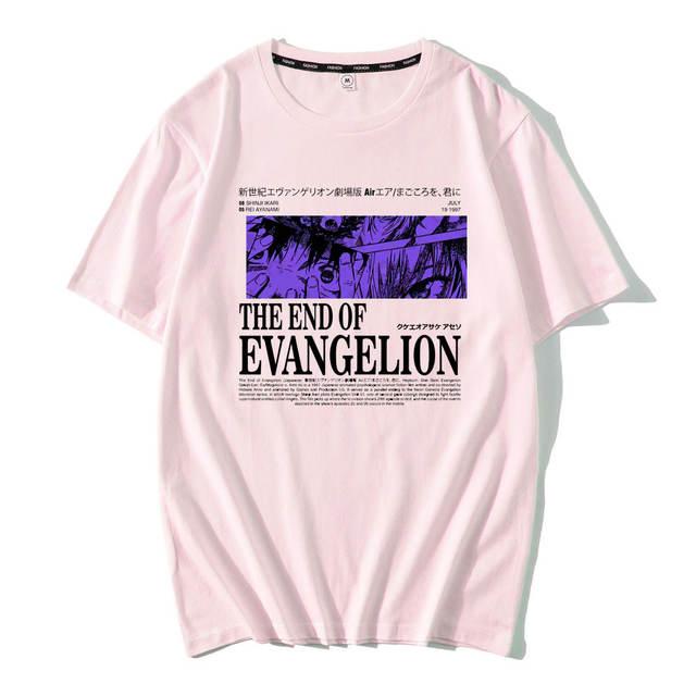 NEON GENESIS EVANGELION THEMED T-SHIRT (31 VARIAN)