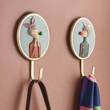 かわいい女の子フック樹脂フィギュア3d壁の装飾ルームの装飾アクセサリーティーンガールズ装飾フックかわいい家の装飾のギフト