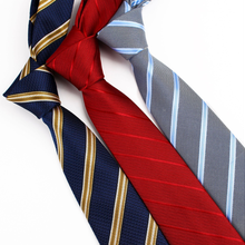 2020 Newest Business Striped Men Ties 7cm Work Leisure Party