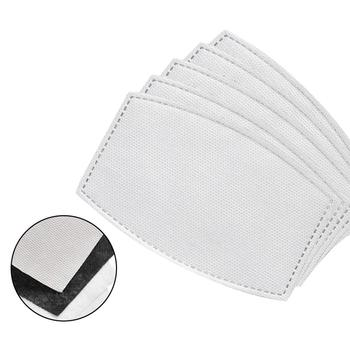 Activated Carbon Mask Filter Paper Solid Color Mask Filter Gasket Replacement Face Cover Accessory Kids Adults Mask filter