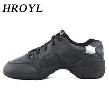 Новинка; Танцевальные кроссовки из натуральной кожи; Цвет черный