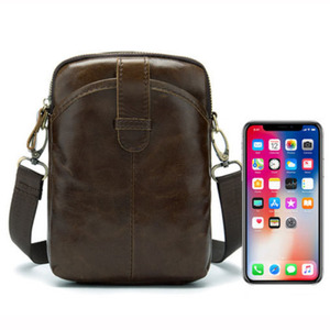 Image 5 - Vintage Men Messenger กระเป๋าหนังแท้ชาย Mini Travel Bag กระเป๋าสะพายชายกระเป๋า Crossbody ขนาดเล็กสำหรับบุรุษหนังกระเป๋า