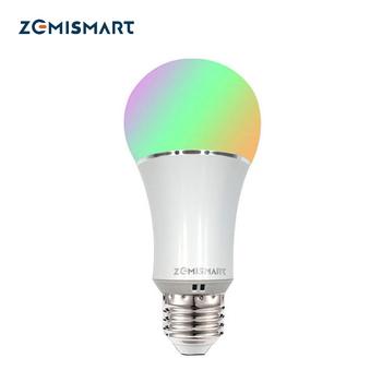 Dimmable E27 WiFi RGB Led Ampoule Lumière Voix Contrôle par Alexa Echo...