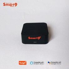Smart9 universal ir controlador quadrado tipo tuya solução de automação residencial inteligente vida aplicativo funciona com alexa eco google casa